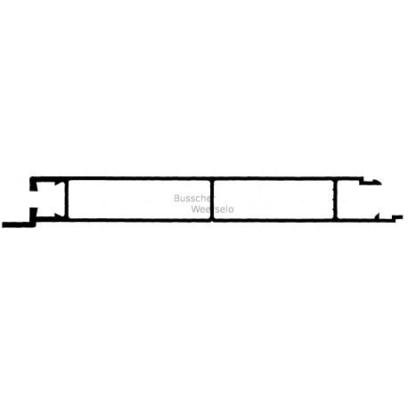 unteres profil f r bordwand mit nase aluminium 200 25 anhaenger plaza. Black Bedroom Furniture Sets. Home Design Ideas