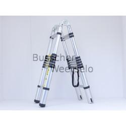 Aluminium klap und teleskop Leiter Kombination 4,4 Meter