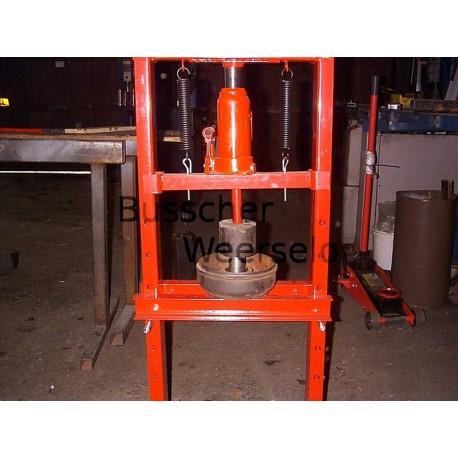 Montage inklusive 2x Wasserdichte SKF BAH-0116 Kompaktlager | waterproof