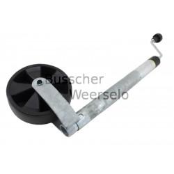 48 mm Stützrad mit Stützlastanzeige