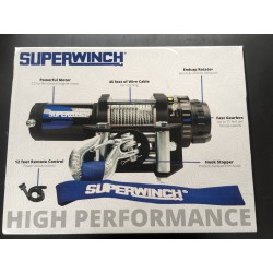 Seilwinde electrisch 1589 kg 12V / Superwinch AX35