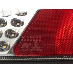 LED 4 GLOCTRAC 7-Funktionen Rücklicht | 12/24V | 240*150