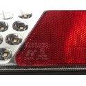 LED 4 GLOCTRAC 7-Funktionen Rücklicht   12/24V   240*150