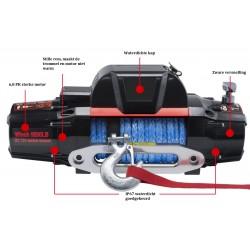 Elektrische Seilwinde BWN | 6200 kg / 13500 LBS | 12V