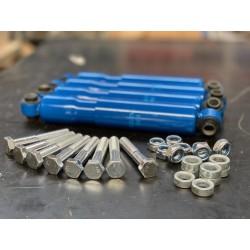 4x Achsstoßdämpfer 100 km/h PKW Anhänger 600-1400 KG Universal ALKO-KNOTT-SCHLEGL-BPW 215-340mm