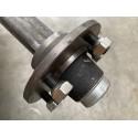 Starre Achse LNB VK50 ungebremst bis 3300 kg / 140*5 / 1500 mm