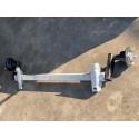 300 kg Gummifeder PKW Anhänger Achse VK50 ungebremst
