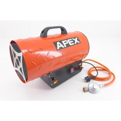 GAS HEATER APEX 10KW + REDUZIER MIT SCHLAUCH