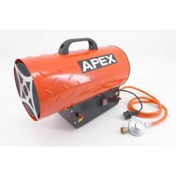 GAS HEATER APEX 15KW + REDUZIER MIT SCHLAUCH